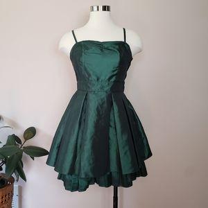 H&M emerald party dress